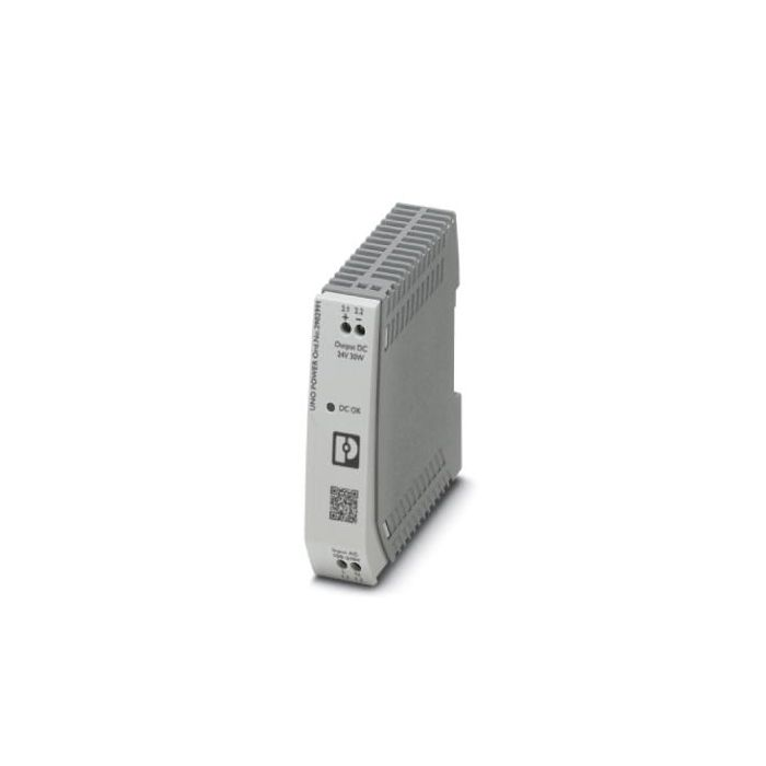 2902991 - Power supply - 24 VDC / 30W, 1-phase, DIN-Rail, -25 °C ... 70 °C