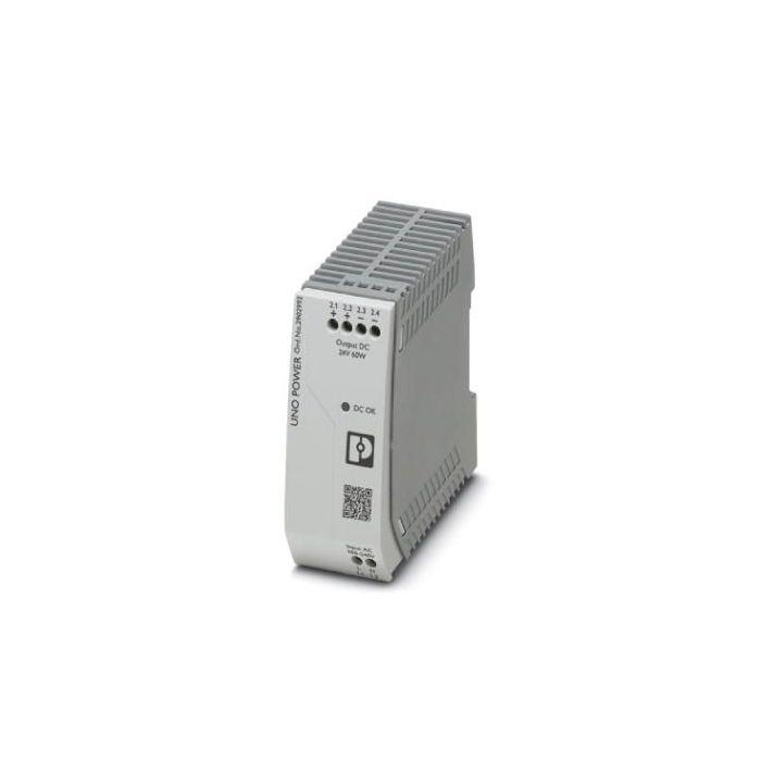 2902992 - Power Supply - 24 VDC / 60W, -Phase, DIN-Rail. -25 to 70°C
