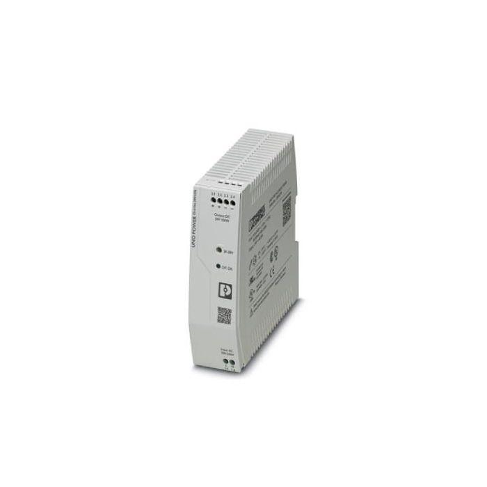 2904376 - Power Supply - 24 VDC / 150W, 1-Phase, DIN-Rail. -25 to 70°C