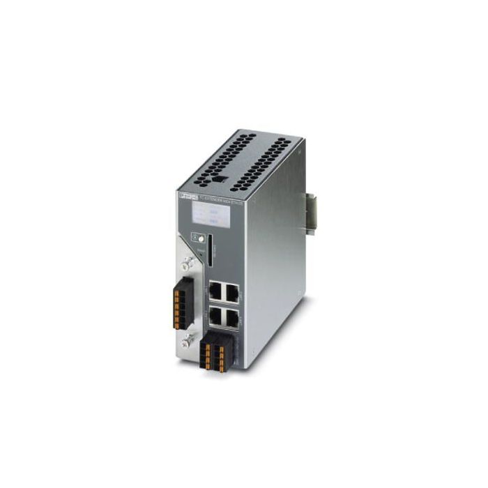 ED20Kext4psw - Industrial Managed 4 Port Switch with 2 SHDSL Ethernet Extender Ports