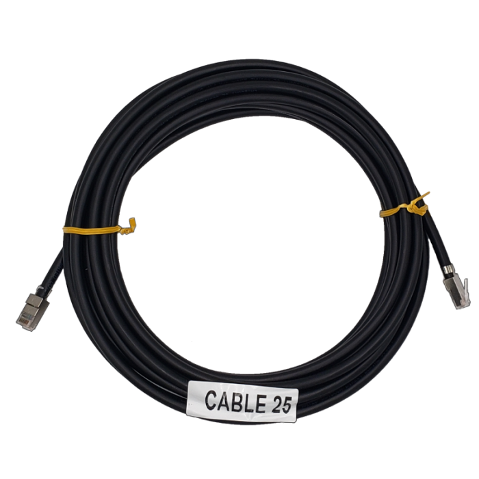 Ethernet Cable, Shielded CAT6 25 Feet
