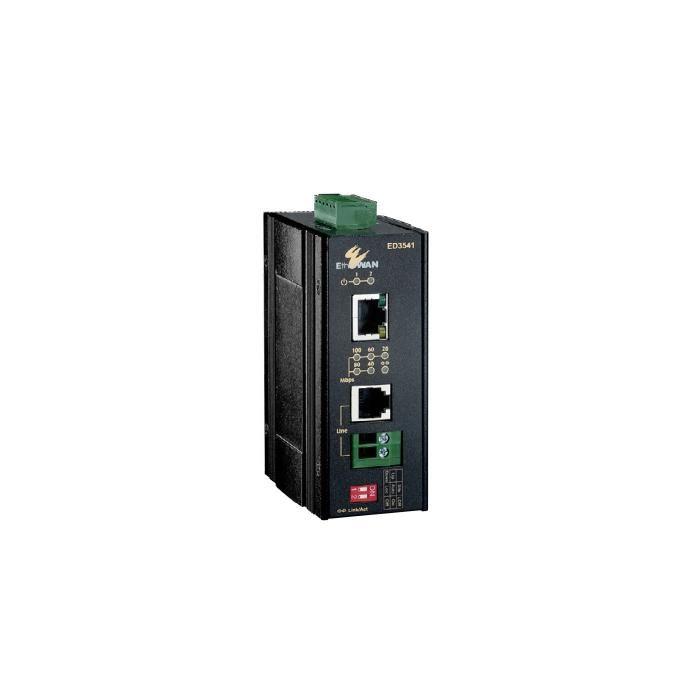 ED3541 - Hardened, DIN-Rail 10/100BASE-TX Ethernet Extender
