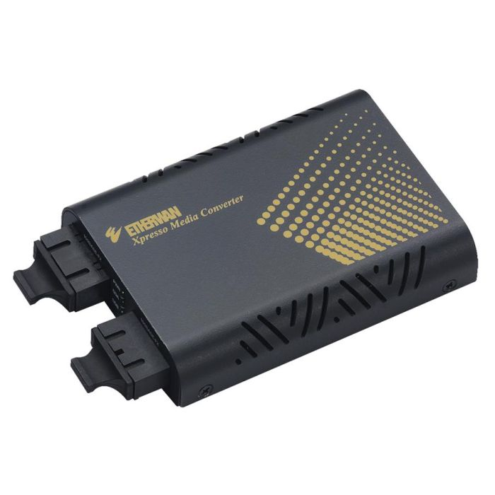 EM120MCC-15 - 100BASE-FX MultiMode (SC) to 100BASE-FX Single Mode (SC) - 15Km