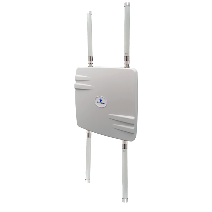 EW75200-0804 - 802.11AC, IP67, Wireless Bridge, 5GHz/8dBi and 2.4GHz/4dBi Omni antenna