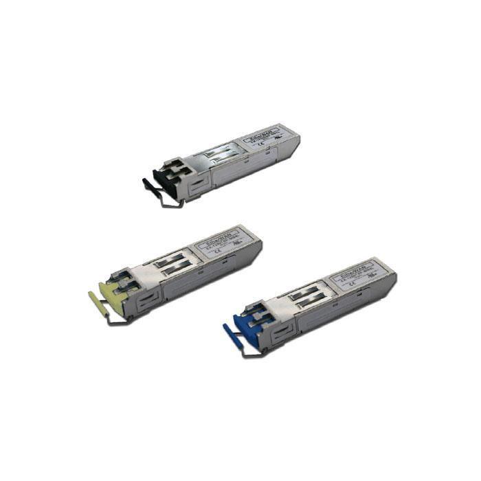 EX-LS38-C3U-TC-N-CE - Gigabit SFP Module (DDM), 60Km, Single Mode, Single LC Connector, TX: 1310nm/ RX: 1550nm